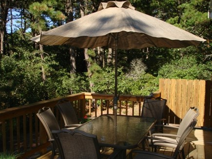 Wellfleet Cape Cod vacation rental - Lovely deck for relaxing