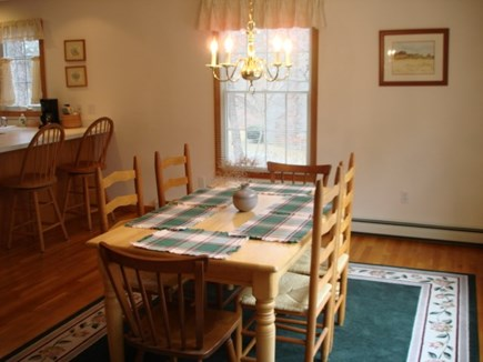 Wellfleet Cape Cod vacation rental - Dining open to living and kitchen
