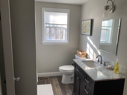 Orleans Cape Cod vacation rental - Main bath--modern, spacious with huge tub/shower.