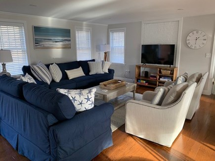 Orleans Cape Cod vacation rental - Living room perfect for games, puzzles and binging Netflix!