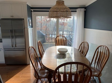 Orleans Cape Cod vacation rental - Dining area for meal gathering, puzzles, workspace, etc.