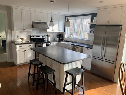 Orleans Cape Cod vacation rental - Modern, bright kitchen fully outfitted with all new everything!