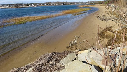 Wellfleet Cape Cod vacation rental - Tidal Beach in front. At lower tides take a stroll or sunbathe.
