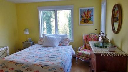 Wellfleet Cape Cod vacation rental - First floor bedroom with a shower bath.