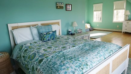 Wellfleet Cape Cod vacation rental - Main bedroom with private deck, bath and spectacular water views.