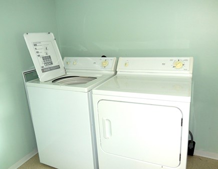 West Dennis Cape Cod vacation rental - Laundry facilities off first floor bedroom