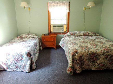 West Dennis Cape Cod vacation rental - First floor bedroom with 1 queen and 1 double bed