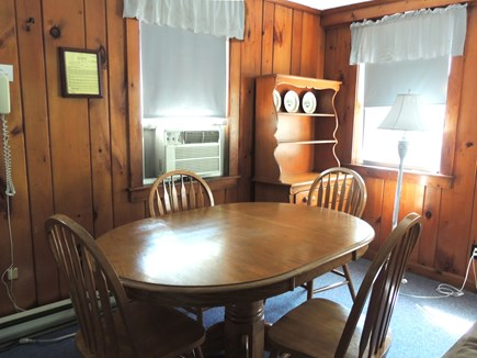 West Dennis Cape Cod vacation rental - Dining area