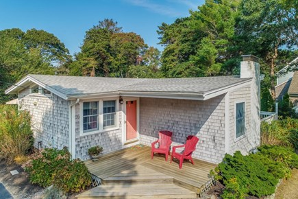 Falmouth Cape Cod vacation rental - Front with Coffee porch