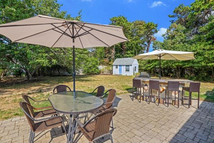 Falmouth Cape Cod vacation rental - Backyard patio