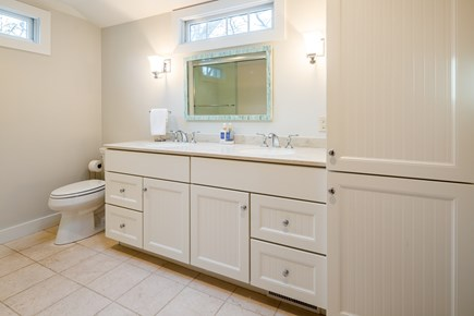 Orleans Cape Cod vacation rental - Updated master bathroom with deep soaking tub/shower combo