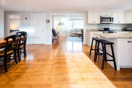 Orleans Cape Cod vacation rental - Recently renovated eat-in kitchen - dining for 6 plus island