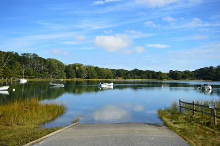 Orleans Cape Cod vacation rental - Saltwater inlet w/ boat ramp across the street, 1 kayak provided