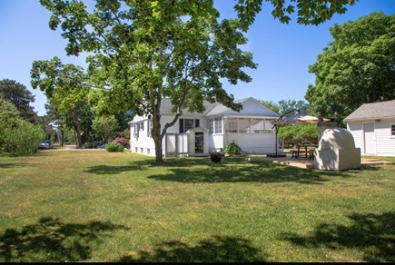 North Dennis, Mayflower Beach  Cape Cod vacation rental - Large spacious yard on a quiet road, perfect for families.