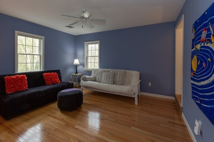 Centerville Cape Cod vacation rental - Sitting room on second floor in between bedrooms (with futon)