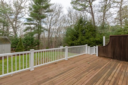 Centerville Cape Cod vacation rental - Side Sundeck with enclosed outdoor shower