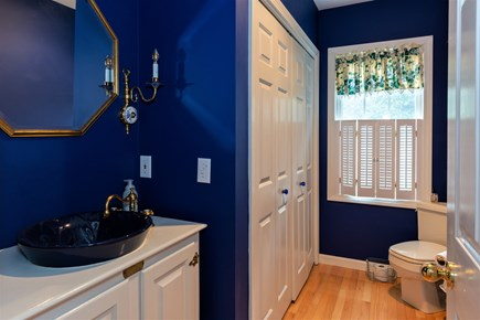 Centerville Cape Cod vacation rental - Half bath on first floor with laundry