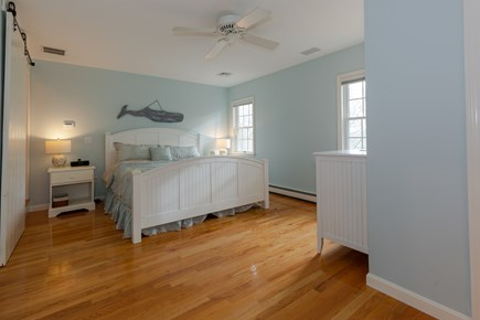 Centerville Cape Cod vacation rental - Master bedroom with king size bed and en-suite bath/second floor