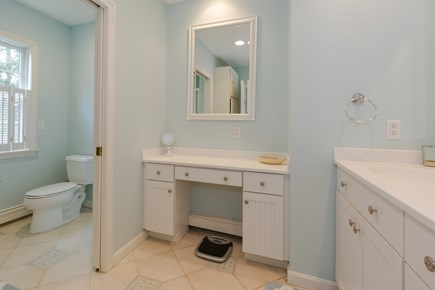 Centerville Cape Cod vacation rental - private master bath with shower