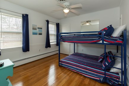 Hyannis Cape Cod vacation rental - Bedroom #4 with double bunk