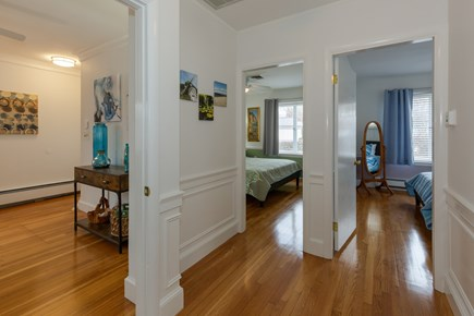 Hyannis Cape Cod vacation rental - three bedrooms at one side of home/master on other side