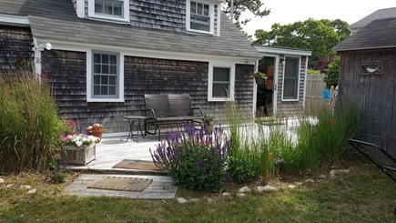 Dennisport Cape Cod vacation rental - Front Deck