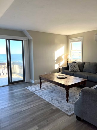 Sandwich Cape Cod vacation rental - Sitting area in in-law with TV, full bath & kitchen