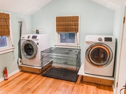 South Dennis Cape Cod vacation rental - Laundry room/pantry/coat closet
