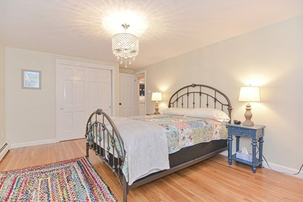 Hyannis/Centerville LIne Cape Cod vacation rental - Open airy master bedroom.