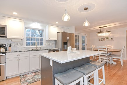 Hyannis/Centerville LIne Cape Cod vacation rental - New bright kitchen with stainless steel appliances.