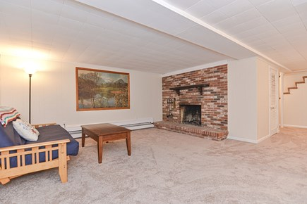 Hyannis/Centerville LIne Cape Cod vacation rental - Updated basement. New paint, carpet and new futon. Warm and cozy.