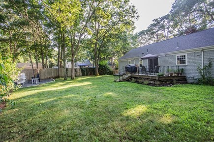 Hyannis/Centerville LIne Cape Cod vacation rental - Spacious, shaded private backyard.
