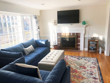 Hyannis/Centerville LIne Cape Cod vacation rental - Living room with charming picture window.