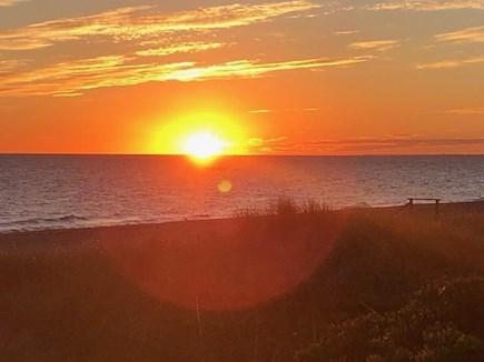 East Sandwich Beach Cape Cod vacation rental - Sunrise over Cape Cod Bay