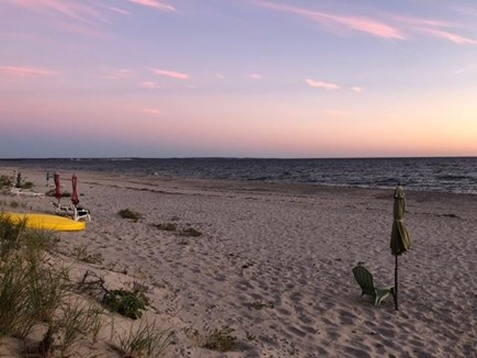 East Sandwich Beach Cape Cod vacation rental - Private beach steps away