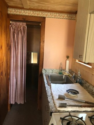 East Sandwich Beach Cape Cod vacation rental - Kitchen stove/sink