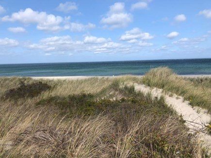 East Sandwich Beach Cape Cod vacation rental - Pathway to the beach