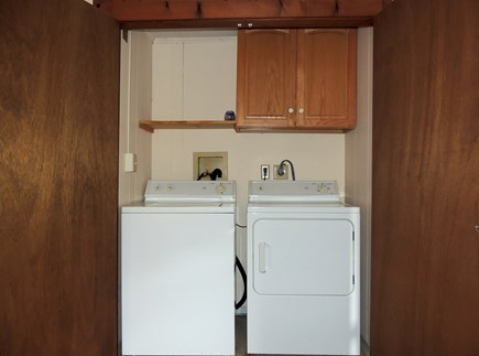 West Dennis Cape Cod vacation rental - Laundry facilities in first floor bedroom