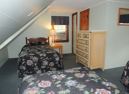 West Dennis Cape Cod vacation rental - Second floor bedroom with 3 twin beds