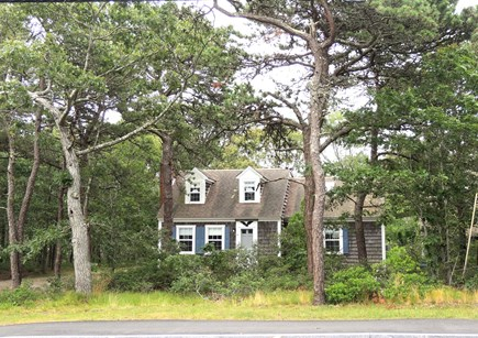 West Dennis Cape Cod vacation rental - Front of house from road