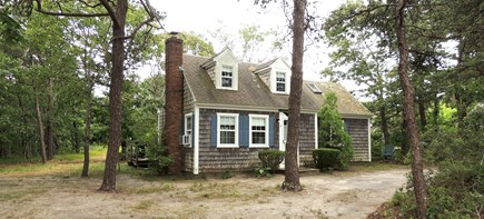 West Dennis Cape Cod vacation rental - Front of house from driveway