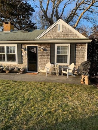 Chatham Cape Cod vacation rental - Sunny patio and living room
