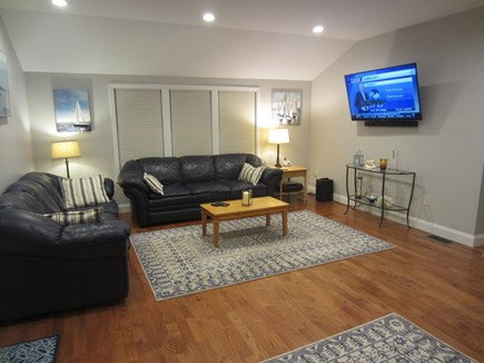 Centerville Cape Cod vacation rental - Family Room with 55 Inch HD TV