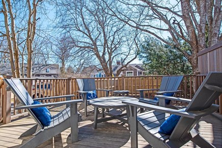 Provincetown, Cod Hollow Cape Cod vacation rental - Outside deck off of living room