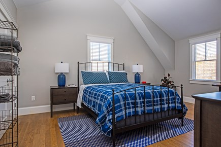 Provincetown, Cod Hollow Cape Cod vacation rental - Master Bedroom, lots of beautiful light.