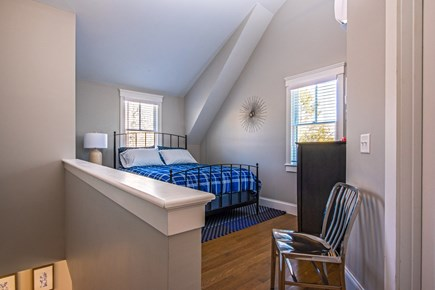 Provincetown, Cod Hollow Cape Cod vacation rental - Study area with queen bed..............