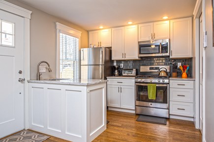 Provincetown, Cod Hollow Cape Cod vacation rental - Kitchen with all the amenities.