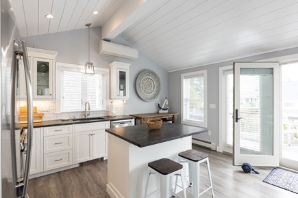 Popponesset Cape Cod vacation rental - Gourmet kitchen, French doors to deck