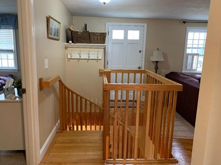 Eastham Cape Cod vacation rental - Circular staircase to lower level