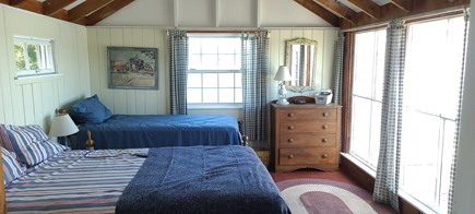 Dennis Port Cape Cod vacation rental - Master bedroom with queen and twin bed